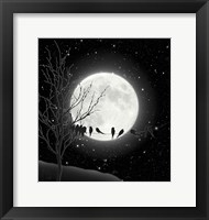 Framed Moon Bath I