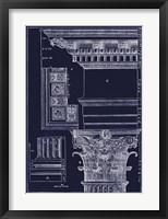 Framed Andrea Palladio Corinthian Capital 1557