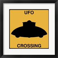 Framed UFO Crossing