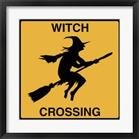 Framed Witch Crossing