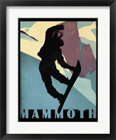 Framed Mammoth Mountain Winter Sports I