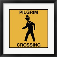 Framed Pilgrim Crossing