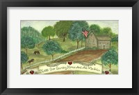 Framed Bless Our Country Home