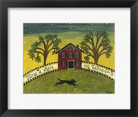 Framed Home Is Where My Labrador Is