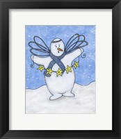 Framed Snow Angel
