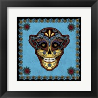 Framed Sugar Skull