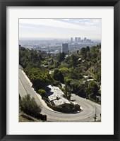 Framed Overlooking LA