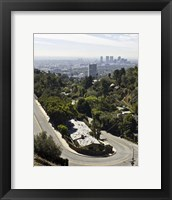 Framed Overlooking LA