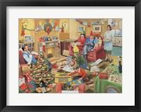 Framed 50's Family Christmas