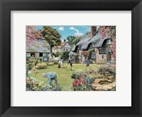 Framed Cottage Garden