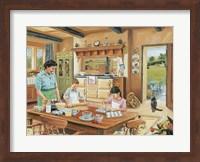 Framed Cottage Kitchen