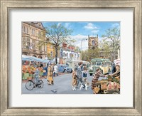 Framed Market Day