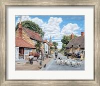 Framed Village Farrier