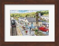 Framed Village Station
