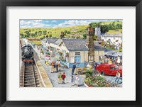 Framed Village Station