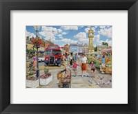 Framed Arriving In Market Square