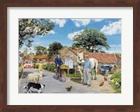 Framed Post For The Farm