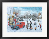 Framed Village Christmas