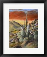 Framed Desert Refuge