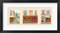 Framed Paris Triptych A