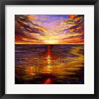 Framed Sunset Forever