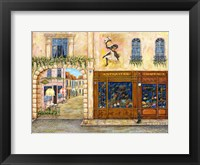 Framed Welcome to Paris