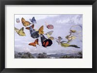 Framed Fairy Butterflies 1