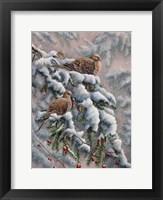 Framed Winter Trio