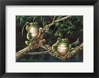 Framed Frogs