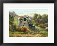 Framed Purdy's Barn