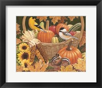 Framed Harvest Basket