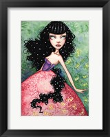 Framed Madame Firefly