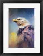 Framed Eagle On Guard
