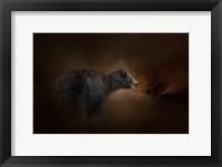 Framed Moonlight Run