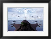 Framed Angels Overhead 1