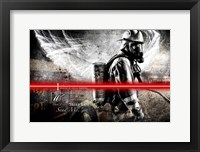 Framed Send Me Firefighter 1
