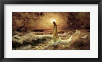 Framed Christ On Water