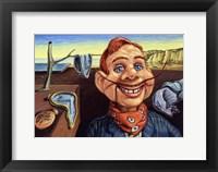 Framed Howdy Dali Doody