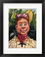 Framed Howdy Frida Doody with Thorns