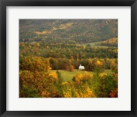 Framed Church Cades Cove