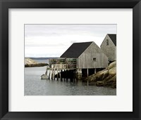 Framed Peggy's Cove, NS
