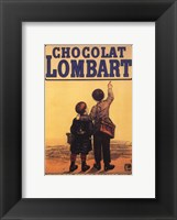 Framed Choclat Lombart