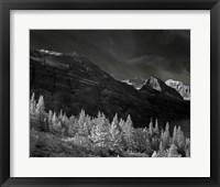 Framed Glacier Park I