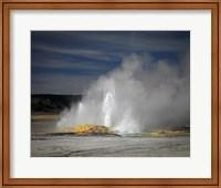 Framed Geyser Yellowstone
