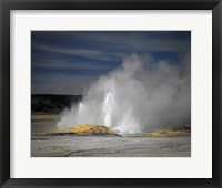 Framed Geyser Yellowstone