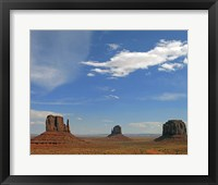 Framed Monument Valley