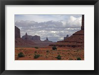 Framed Monument Valley III