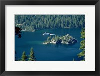 Framed Lake Tahoe