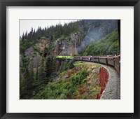 Framed #89  White Pass RR