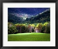 Framed Oliver Cabin GSMNP, TN